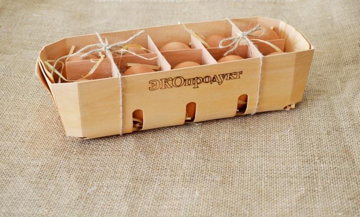 экоупаковка для яиц