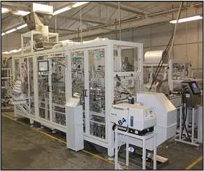 Автоматическая линия фасовки муки в бумажные пакеты ЛФМ Б