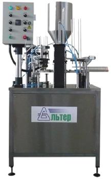 Автомат дозировочно-упаковочный карусельного типа