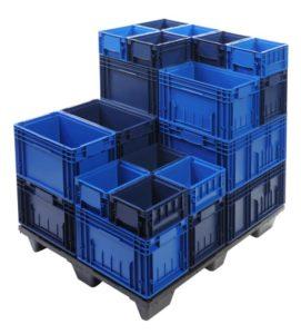 Пластиковые контейнеры системы KLT