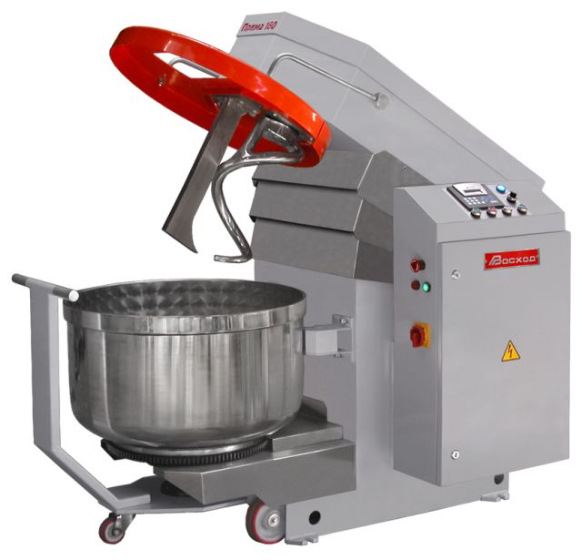 Тестомесильная машина с подкатной дежой Прима-160