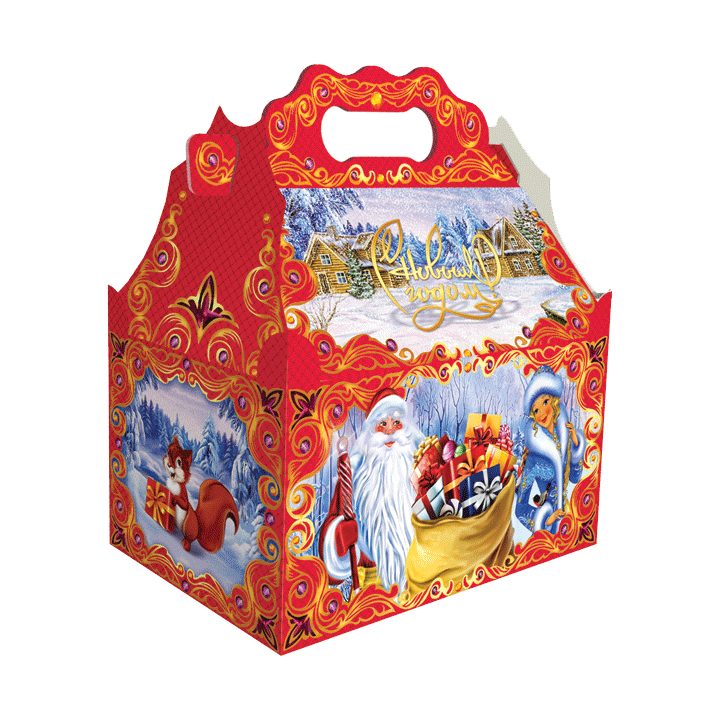 Сладкие новогодние подарки оптом в томске
