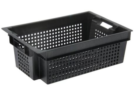 Ящик пластиковый 600 х 400 х 200 для овощей