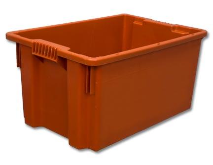 Пластиковые ящики с крышкой