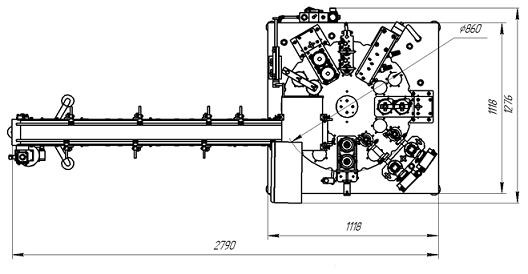 Автомат АДНК 39 Д 2 х рядный в базовой комплектации
