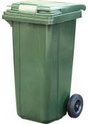 Контейнер для мусора 120 литров артикул MKT-120