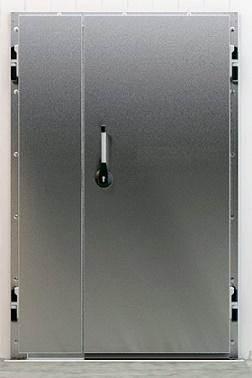 Распашные холодильные двери специального назначения РДО (СН), РДД (СН)