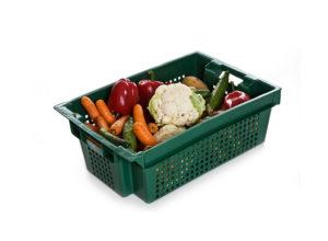 Пластиковые ящики для овощей и фруктов