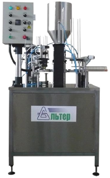 Автомат дозировочно-упаковочный карусельного типа Альтер-01