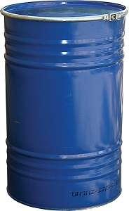 Металлическая бочка 210 литров с крышкой Арт. БСЗ-210 о
