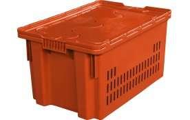 Пластиковые ящики с крышкой Артикул 602-1