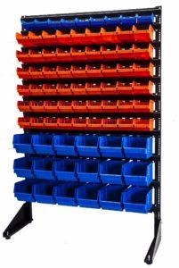 стеллаж стойка для пластиковых ящиков