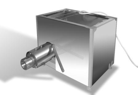 Пресс сепаратор механической обвалки мяса ПМО-250