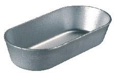 Форма хлебопекарная овальная низкая