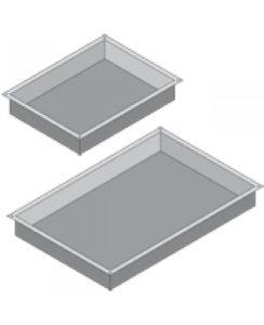 Гастроемкость нержавеющая сталь GN 1/2 H-60