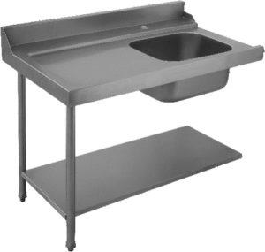 Стол для грязной посуды Elettrobar PAL 120