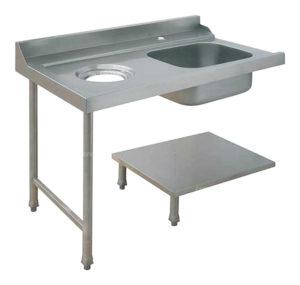 Стол для грязной посуды Elettrobar PAL150SX