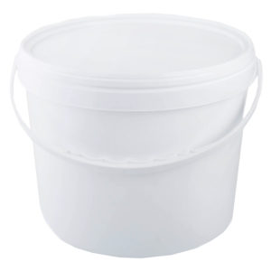 арт ВП 0,55 м Ведро пластиковое белое