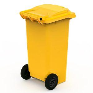 арт МКТ 120 Мусорный контейнер 120л желтый