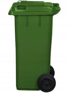 арт МКТ 120 Мусорный контейнер 120л зеленый