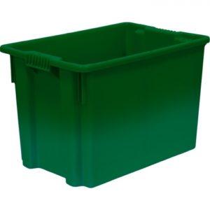 арт 605 Ящик 600*400*400 сплошной зеленый
