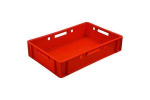 арт 205 Ящик мясной 600*400*120 сплошной красный