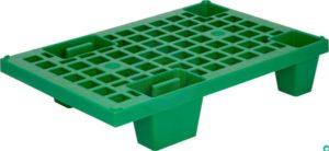 арт TR400 Паллет перфорированный на ножках зеленый