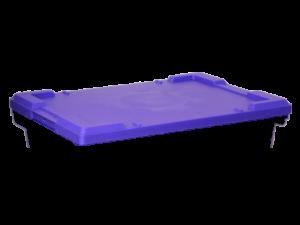 арт 506 Крышка для ящика 600*400 синяя