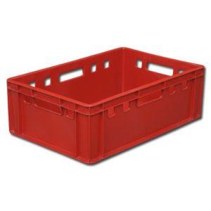 арт 207 Ящик Е2 мясной 600*400*200 сплошной красный