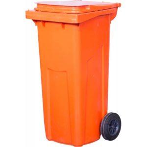 арт МКТ 120 Мусорный контейнер 120 л оранжевый