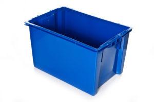 арт 603 Ящик 600*400*350 сплошной синий