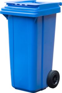 арт МКТ 120 Мусорный контейнер 120л синий