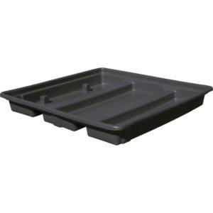 Емкость для отходов без паллета, черный ПдО 1601