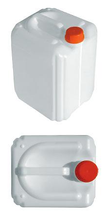 Пластиковая канистра штабелируемая с мерной полосой 10,0 л евро