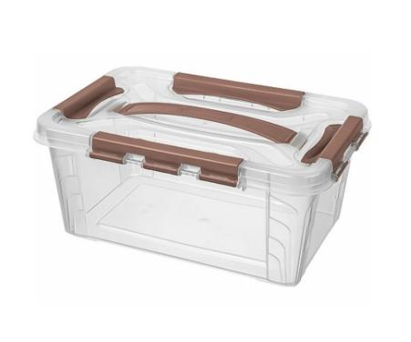 Пластиковый контейнер для хранения 290x190x124 Арт.GRAND BOX 4,2