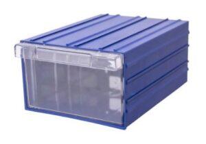 Ящик пластиковый с корпусом. Ящик пластиковый для склада. Ящик для бисера.