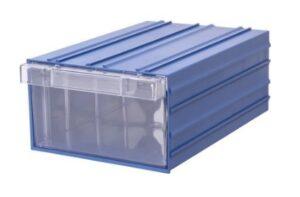 Ящик пластиковый прозрачный в корпусе. Ящик для склада. Ящик для бисера.