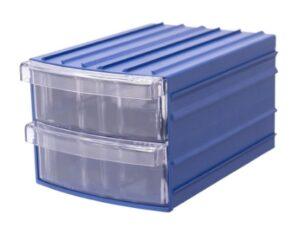 Пластиковый прозрачный ящик в комплекте с корпусом
