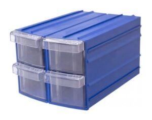 Ящик пластиковый прозрачный в корпусе для бисера