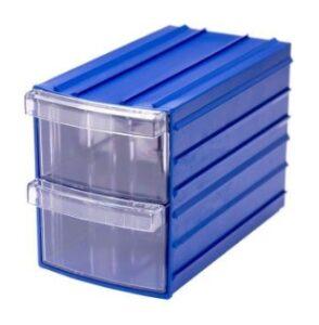 Прозрачные ящики с корпусом для бисера