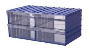 Ящик пластиковый прозрачный. Ящик ля склада. Ящик для бисера.