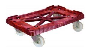 Тележка для ящиков колеса полиамид