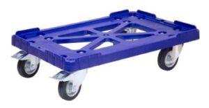 Тележка для ящиков резиновые колеса