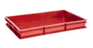 Ящик пластиковый универсальный сплошной