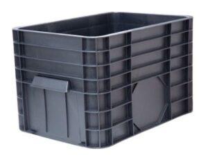 Сплошной универсальный пластиковый ящик