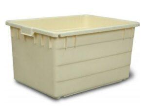 Сплошной пластиковый ящик 130 л
