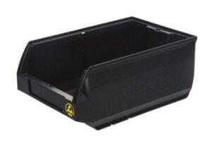 Ящик пластиковый антистатический для склада
