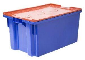 Ящик пластиковый с пломбируемой крышкой