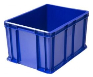 Пластиковый ящик сплошной