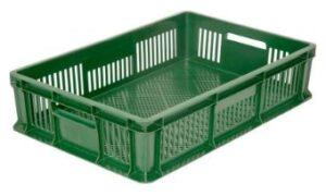 Пластиковый перфорированный ящик